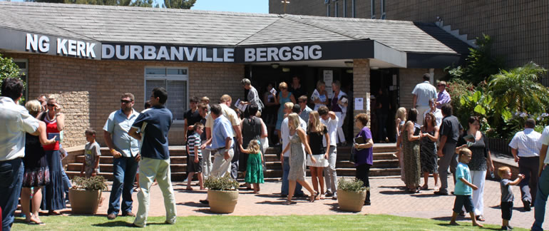 Durbanville Bergsig - Ons is Sy ligdraers