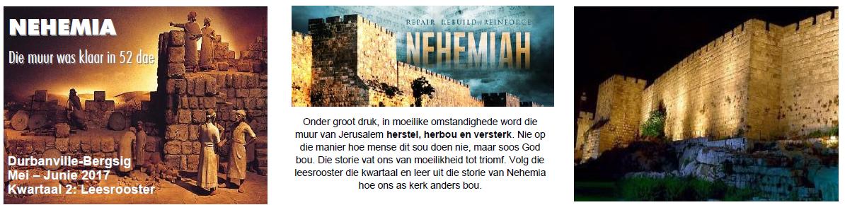 Nehemia Leesrooster